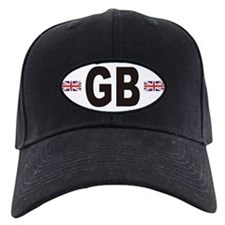 GB Great Britain Euro Style Baseball Hat