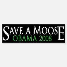 Save a Moose Bumper Bumper Bumper Sticker