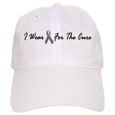 I Wear Grey For The Cure 1 Baseball Cap