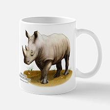 White Rhinoceros Mug