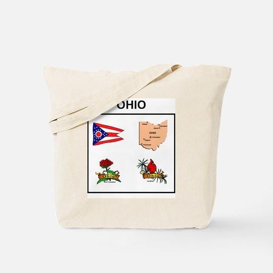 stae of ohio design Tote Bag