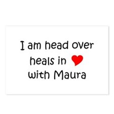 Funny I love maura Postcards (Package of 8)