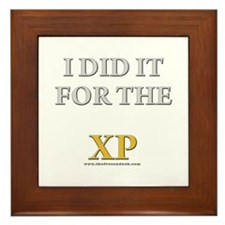 For the XP Framed Tile