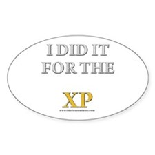 For the XP Oval Decal