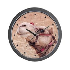 Egyptian Camel Photo Wall Clock