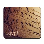Egypt Hieroglyphic Wall Photo Mousepad
