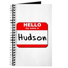 Hello my name is Hudson Journal