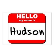 Hello my name is Hudson Postcards (Package of 8)