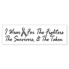 I Wear Grey For The Fighters Survivors Taken 1 Sti