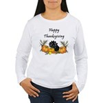 Happy Thanksgiving Women's Long Sleeve T-Shirt