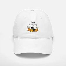 Happy Thanksgiving Baseball Baseball Cap