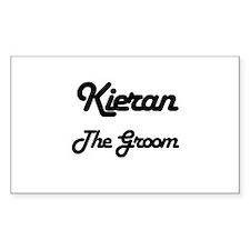 Kieran - The Groom Rectangle Decal
