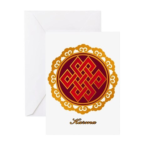 Endless / Eternal Knot Greeting Card