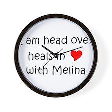 Cool Melina Wall Clock