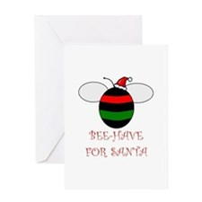 Cool Bee humor Greeting Card