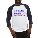 SPEAK FREELY Baseball Jersey