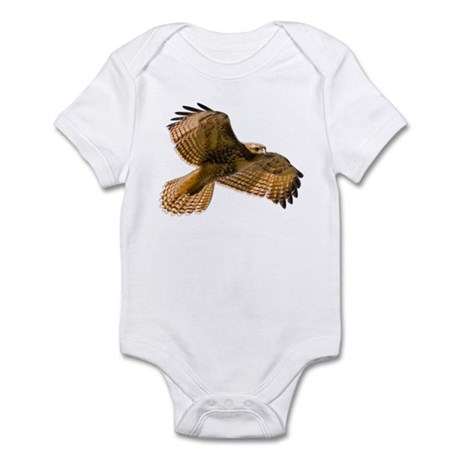 Red-Tailed Hawk Infant Bodysuit