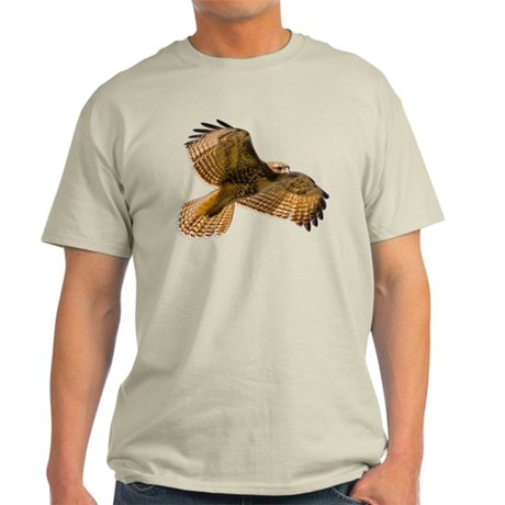 Red-Tailed Hawk Light T-Shirt