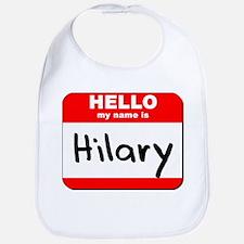 Hello my name is Hilary Bib