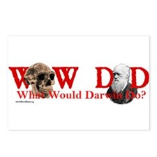 What Would Darwin Do? d32 Postcards (Package of 8)