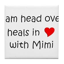 Cute I love mimi Tile Coaster