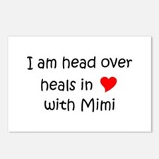 Funny I love mimi Postcards (Package of 8)