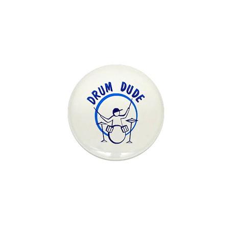 Drum Dude Mini Button