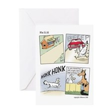 "Mac & Jill ""Cross the Road"" Card"