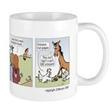 Rock paper scissors mug Coffee Mugs