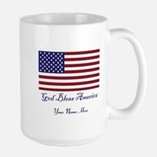 God Bless America MugPersonalize Mugs