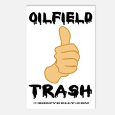 Thumbs Up, Oil Field Trash Postcards (Package of 8