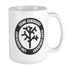 Think Sleep Live Large Mug