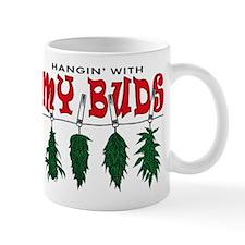 Weed Buds Hanging Mug