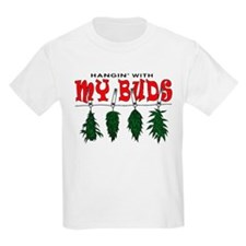 Weed Buds Hanging T-Shirt