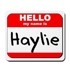 Hello my name is Haylie Mousepad