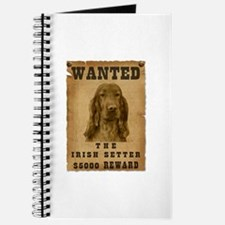 """Wanted"" Irish Setter Journal"