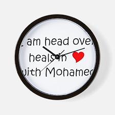 Cute Mohamed Wall Clock