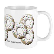 White Donuts Mug