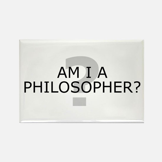 Am I A Philosopher? Rectangle Magnet