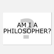 Am I A Philosopher? Postcards (Package of 8)
