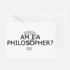 Am I A Philosopher? Greeting Cards (Pk of 10)