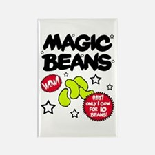 'Magic Beans' Rectangle Magnet