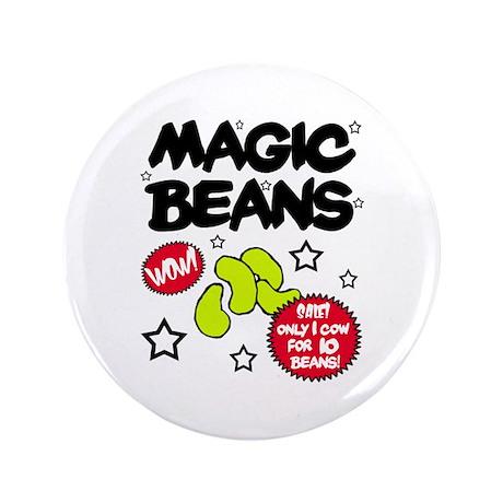 """'Magic Beans' 3.5"""" Button"""