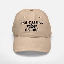 USS CAIMAN Baseball Baseball Cap