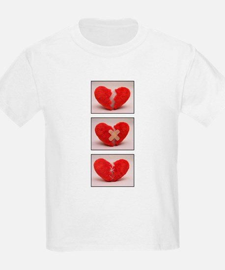 How to heal a broken heart Kids T-Shirt