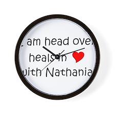 Cool Heart nathanial Wall Clock