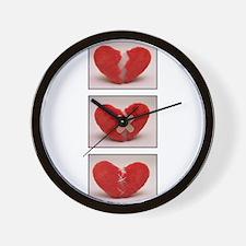 How to heal a broken heart Wall Clock