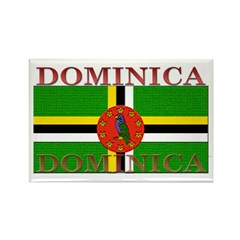 Dominica Rectangle Magnet (10 pack)
