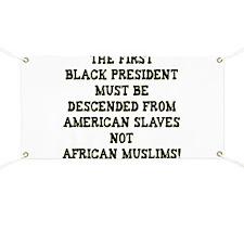 Anti Democrat Banner