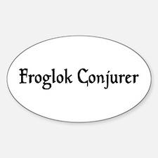 Froglok Conjurer Oval Decal